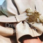 Dress up Bee -gold-