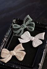 Classical Bow Brooch-1